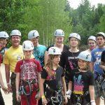 Les juniors à une journée en plein air à Arbraska.
