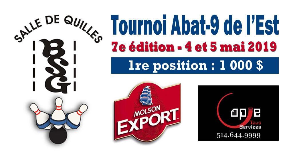 Tournoi Abat-9 de l'Est – 7e édition
